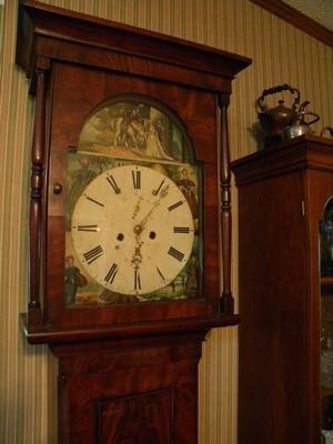 English Provincial Clock face