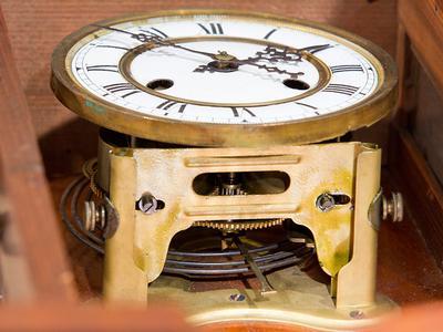 Granddad's clock movement