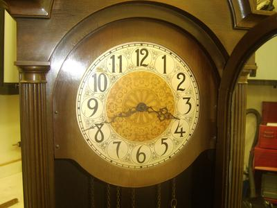 Early Colonial Mfg. Co. hall clock face