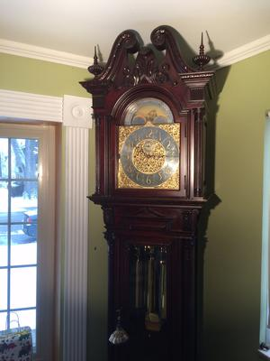 FOR SALE: Turn of the Century Herschede clock