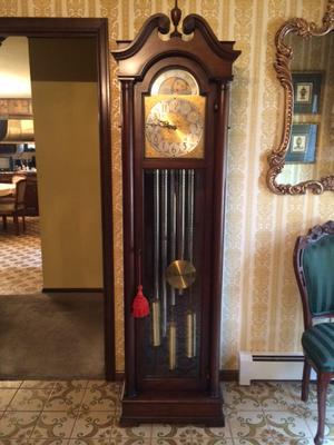 Colonial Manufacturing Co Grandfather clock model #1302
