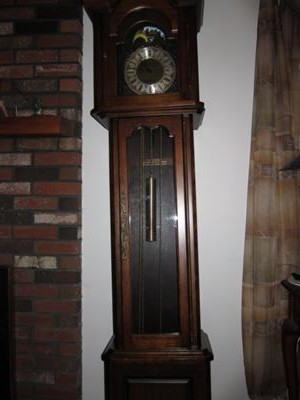 Front of Daneker clock