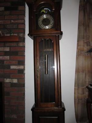 Front of Daneker clock