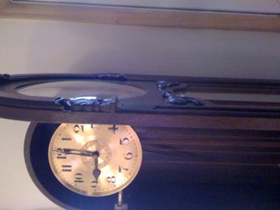 F.A Lenke clock face