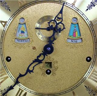 KIENINGER CLOCK MODEL DEATAIL