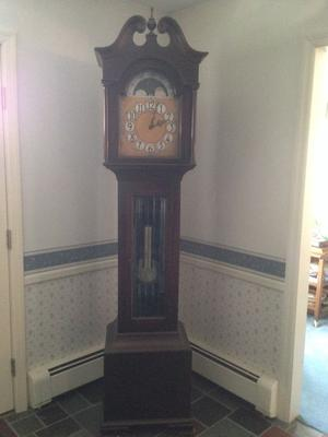 What is this German Colonial Clock worth?