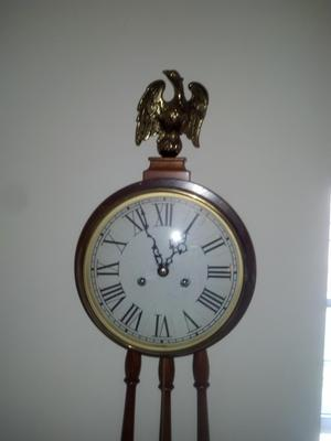 Colonial MFG wallmount grandfather clock 2