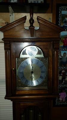 What is the age of this Ridgeway clock