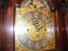 Turn of the Century Tall Case Colonial Mfg. Clock face