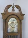 Ridgeway grandfather clock: oak model 253