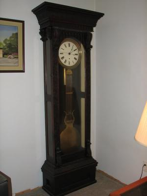 This 100  clock was given by the governor of Pennsylvania