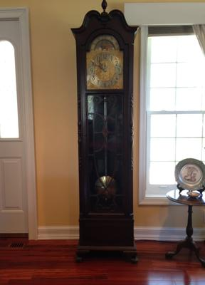 1929 Herschede Electric 5 Tubular Chime Clock