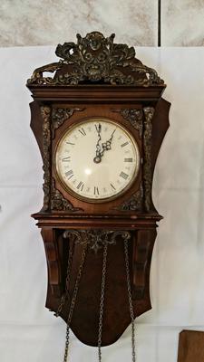 Dutch clock from 1756 with german mechanics