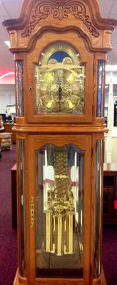 How old is Xavier's Grandfather clock