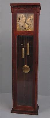 Colonial grandfather clock - mission style