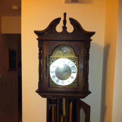 Emperor Grandfather Clock Model 120 Series 101M  High Palled Bridge