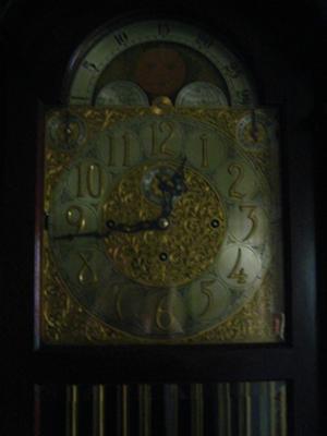 Herschede Tall Clock Face