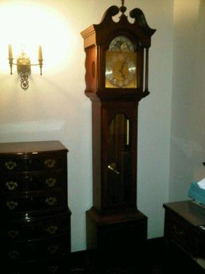 Colonial Granfather Clock full view