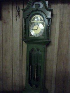 Value Of Green Grandmother Clock