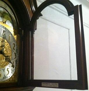 Label(Inside door) Colonial Mfg Co.(model 1698)
